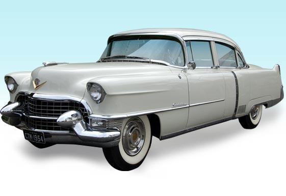 Limousine para casamento - Cadillac Fleetwood 1954