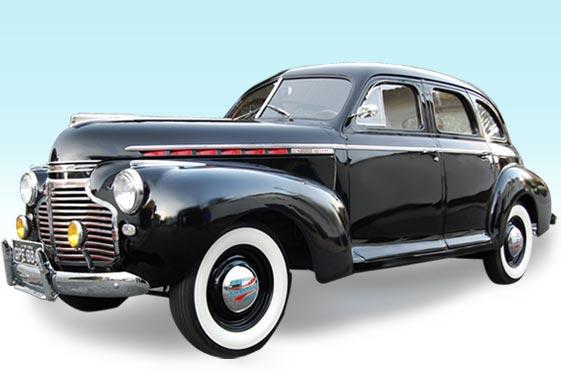 Carros Antigos para Noivas - Chevrolet Master 1941
